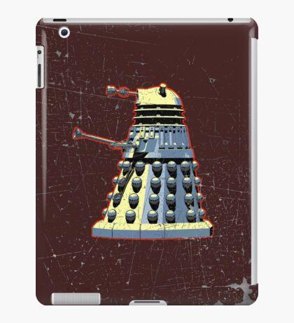 Vintage Look Doctor Who Dalek Graphic iPad Case/Skin