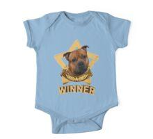 Staffordshire Bull Terrier WINNER One Piece - Short Sleeve