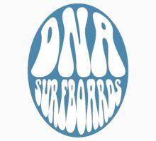 Dark Blue DNA Surfboards circle by DNASurfboards