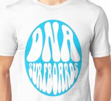 Blue DNA Surfboards circle Unisex T-Shirt