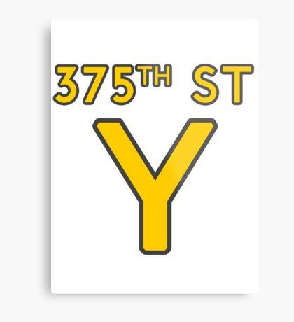 375th Street Y - Royal Tenenbaums Tshirt Metal Print