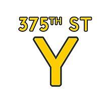 375th Street Y - Royal Tenenbaums Tshirt Photographic Print