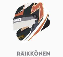 Kimi Räikkönen Helmet Design 2013 Season Kids Clothes