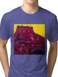 Alizarin's Towering Edifice Tri-blend T-Shirt