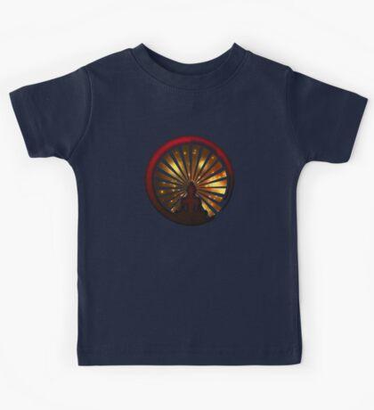 Enso Zen Circle, Meditation, Buddha, Buddhism, Japan, Sun Kids Tee