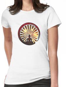 Enso Zen Circle, Meditation, Buddha, Buddhism, Japan, Sun Womens Fitted T-Shirt