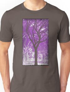 Growth In Purple Unisex T-Shirt