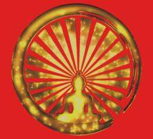 Enso Zen Circle of Enlightenment, Meditation, Buddha, Buddhism, Japan Kids Tee