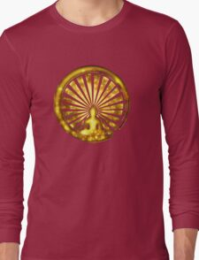 Enso Zen Circle of Enlightenment, Meditation, Buddha, Buddhism, Japan Long Sleeve T-Shirt