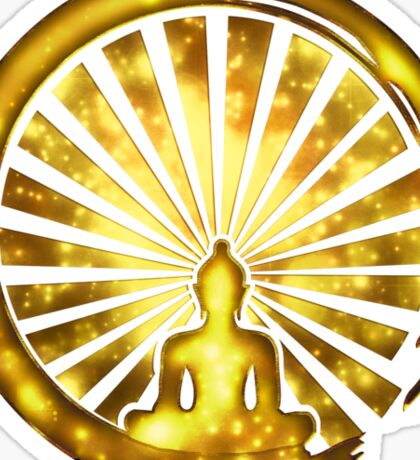 Enso Zen Circle of Enlightenment, Meditation, Buddha, Buddhism, Japan Sticker