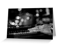 I want to play for you  Greeting Card
