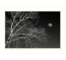 5 O'Clock Moon, February Art Print