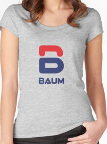 Royal Tenenbaum BAUM variation Women's Fitted Scoop T-Shirt