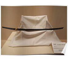 Japanese Sword Poster