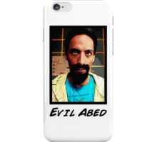 Evil Abed iPhone Case/Skin