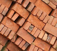 Adobe Bricks Stacked by rhamm