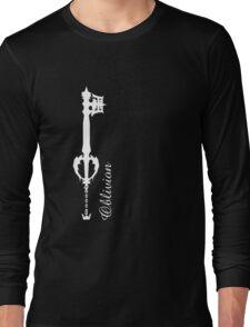 Kingdom Hearts Keyblade Oblivion Long Sleeve T-Shirt