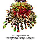 Twitching Toe Tickler Terrorist by James Lewis Hamilton
