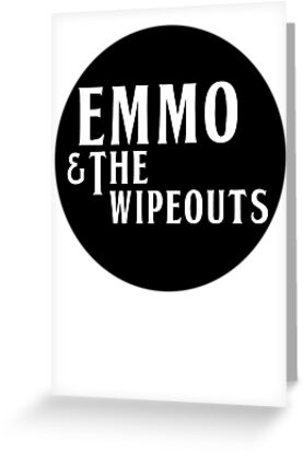 Emmo and the Wipeouts - Black version by the-chaser