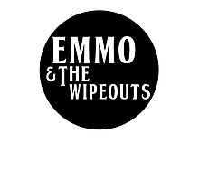 Emmo and the Wipeouts - Black version Photographic Print