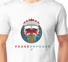 PauseUnPause Cartoon Icon Unisex T-Shirt