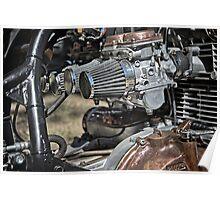 Bike Engine Poster