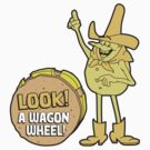 Look! A Wagon Wheel! by chachi-mofo