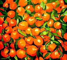 Tangerines by artMoni