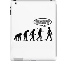Evolution of Man Messed Up iPad Case/Skin