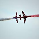 Red Arrows Crossover by Andy Jordan