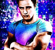 Marlon Brando, Color source 1 by sebmcnulty