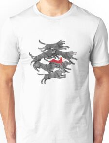 Run with the pack Unisex T-Shirt