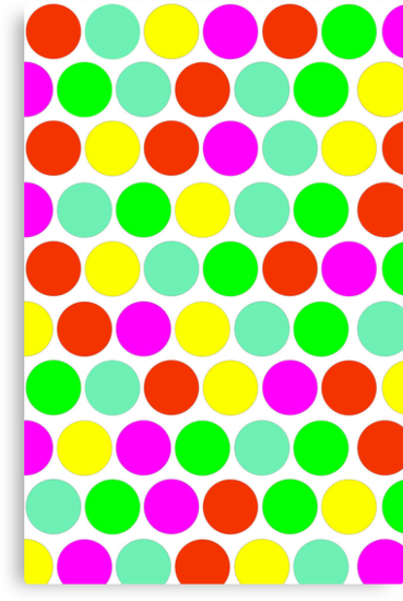 Polka dot, Colors set 2 by sebmcnulty