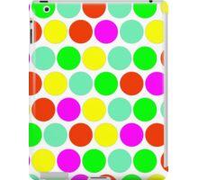 Polka dot, Colors set 2 iPad Case/Skin