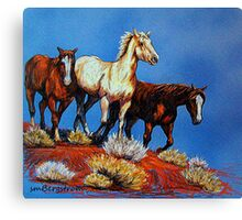 """Wild Trio"" Canvas Print"