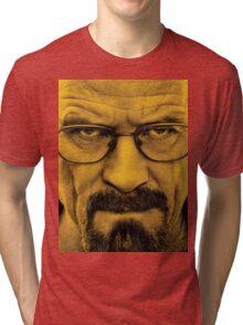 "Breaking Bad - Walter White (Bryan Cranston) ""The One Who Knocks"" Tri-blend T-Shirt"