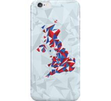 Abstract United Kingdom British Pride iPhone Case/Skin