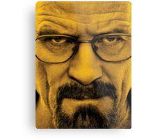 "Breaking Bad - Walter White (Bryan Cranston) ""The One Who Knocks"" Metal Print"
