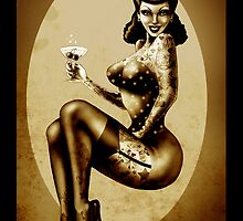 Cheers ! Pin up by ScreamingDemons