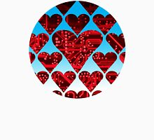 love circuit, red Unisex T-Shirt