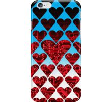 love circuit, red iPhone Case/Skin