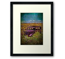 Rusted and Busted Framed Print
