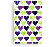 love circuit, Colors set 2 Canvas Print