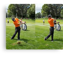 It doesn't pay to miss the Fairway Canvas Print