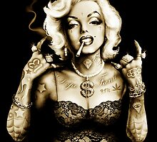 Gangster Marilyn by ScreamingDemons