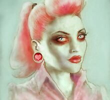 Rockabilly Pink by ScreamingDemons