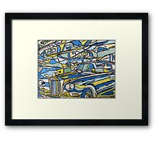 Spin Art Rolls and Fairey Framed Print