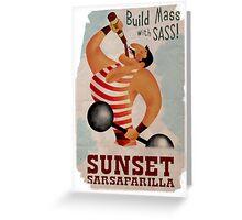Build Mass With Sass Greeting Card