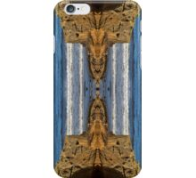 COVE BAY - ROCKS AND WAVES MIRRORED v2 iPhone Case/Skin
