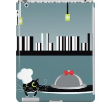 Cook cat. Funny cartoon and vector character iPad Case/Skin